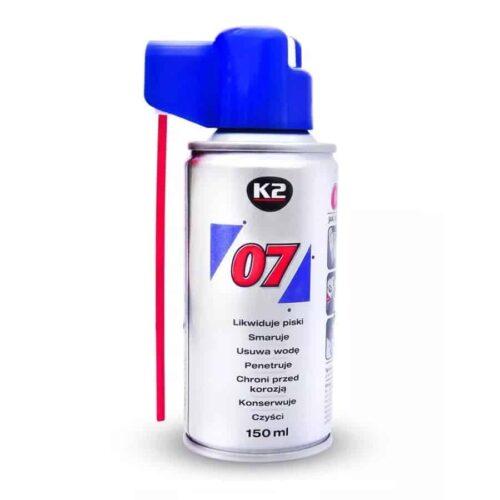 K2 007 Smaruje Konserwuje Penetruje 150ml.