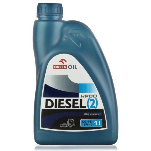 ORLEN DIESEL (2) HPDO CG-4 15W-40 - Olej silnikowy 1L