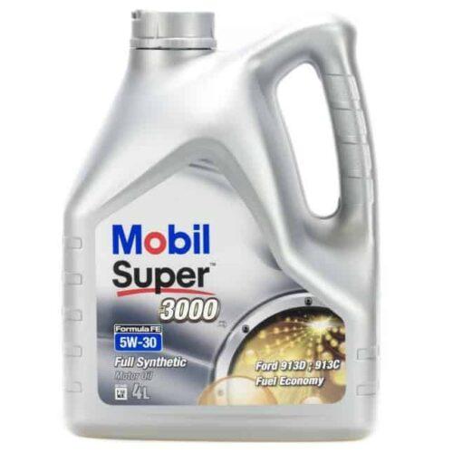 MOBIL 3000 Olej Silnikowy X1 FE 5W30 4L