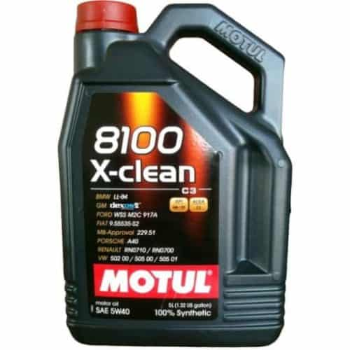 8100 X-CLEAN 5W40 5L Alti Group