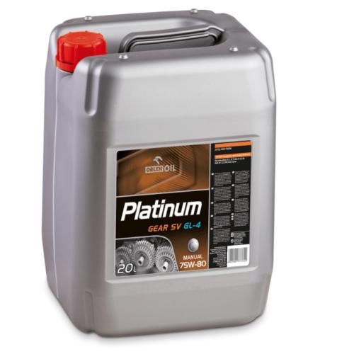 Orlen Platinum Gear SV 75W80 Syntetyczny olej przekładniowy 20 litrów