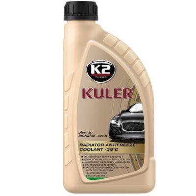 K2 KULER -35°C - Płyn chłodniczy zielony 1L