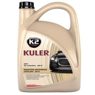 K2 KULER -35°C - Płyn do chłodnic czerwony 5L