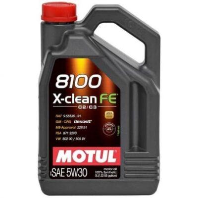 Motul 8100 5W30 FE X-CLEAN 5L Olej Silnikowy