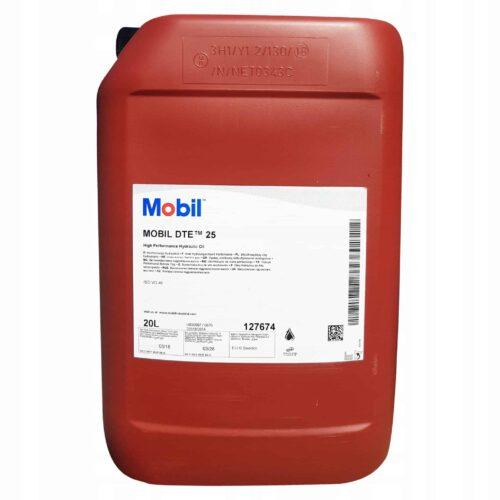 Olej Hydrauliczny Mobil DTE 25 20 litrow Alti Group