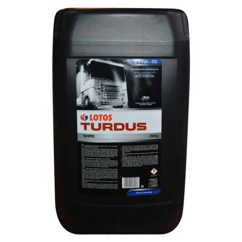 Olej TURDUS op.26kg 30l 15w40 SHPD