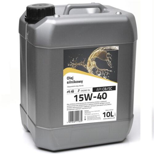 AXENOL Superol A (Alanda) 15W40 CB/SC - Olej silnikowy 10L