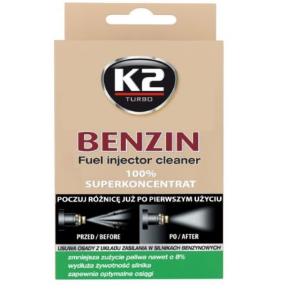 K2 BENZIN Środek do czyszczenia wtryskiwaczy benzyna 50 ML