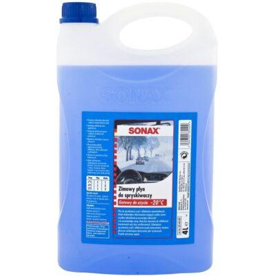 SONAX Zimowy Płyn do spryskiwaczy 4L do -20°