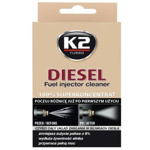 K2 DIESEL Preparat do czyszczenia wtryskiwaczy diesel 50ml