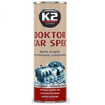K2 DOKTOR CAR SPEC- Preparat zmniejszający spalanie oleju 443ML