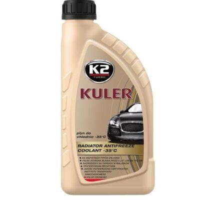 K2 KULER -35°C - Płyn do chłodnic czerwony 1L