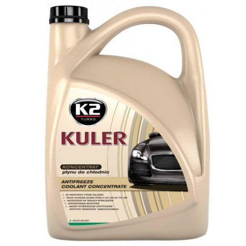 K2 KULER – Płyn chłodniczy KONCENTRAT zielony 5L