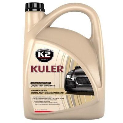 K2 KULER – Płyn chłodniczy KONCENTRAT czerwony 5L