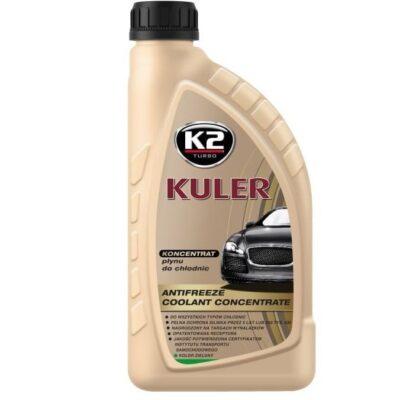 K2 KULER – Płyn chłodniczy KONCENTRAT zielony 1L
