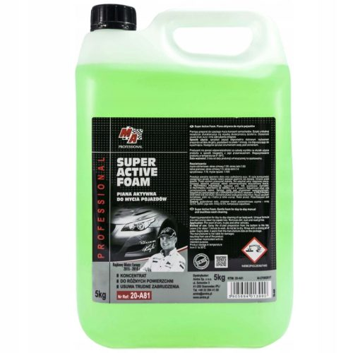 Moje Auto Piana aktywna do mycia samochodów osobowych 5L