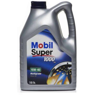 MOBIL SUPER 1000 Olej Silnikowy 15W/40 5L