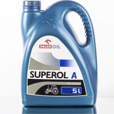 ORLEN SUPEROL A (ALANDA) CB/SC - Olej silnikowy 5L