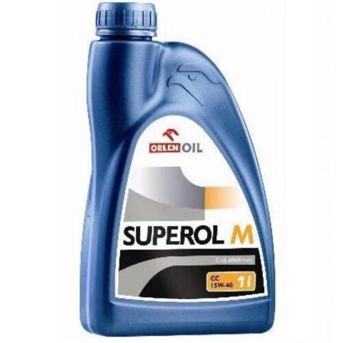 ORLEN SUPEROL M (Milvus) CC 15W-40 - Olej silnikowy 1L