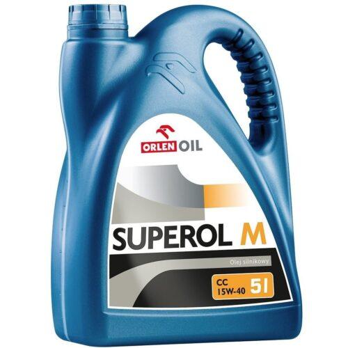 ORLEN SUPEROL M (Milvus) CC 15W-40 - Olej silnikowy 5L