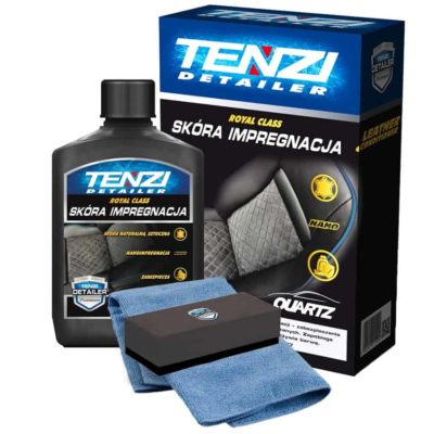 TENZI Skóra Impregnacja - Impregnator skóry 300ml + aplikator + mikrofibra