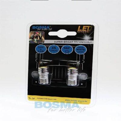 BOSMA 24V 1xSMD T10 WHITE 2szt.