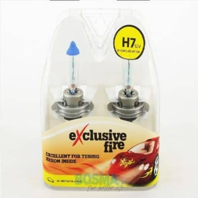 BOSMA 12V H7 55W EXCLUSIVE FIRE 8443