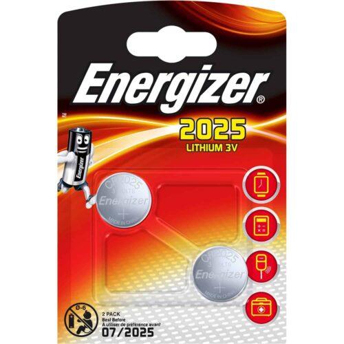 Bateria ENERGIZER CR2025 (3V)