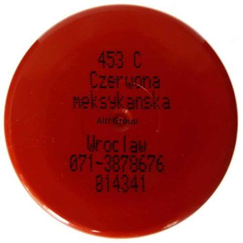 Motip lakier 453C czerwony meksykański Alti Group nakrętka