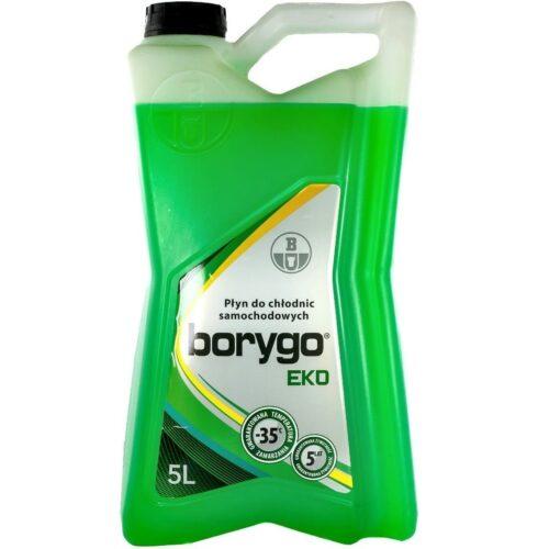 BORYGO EKO - płyn do chłodnic zielony 5L