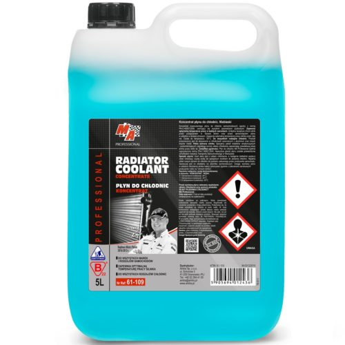 Moje Auto Płyn do chłodnic G12 niebieski KONCENTRAT 5L