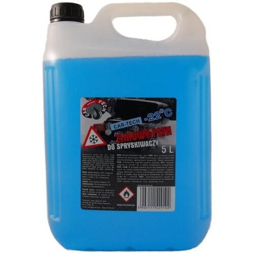 CAR-TECH Zimowy Płyn do spryskiwaczy 5L do -22°C