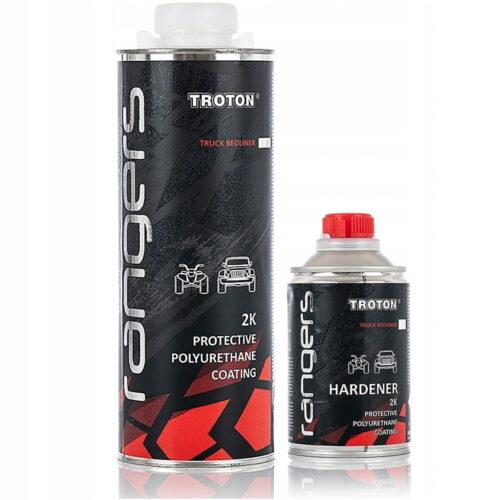 TROTON RANGERS 2K - Ochronna powłoka poliuretanowa 1kg 3:1 Bezbarwny