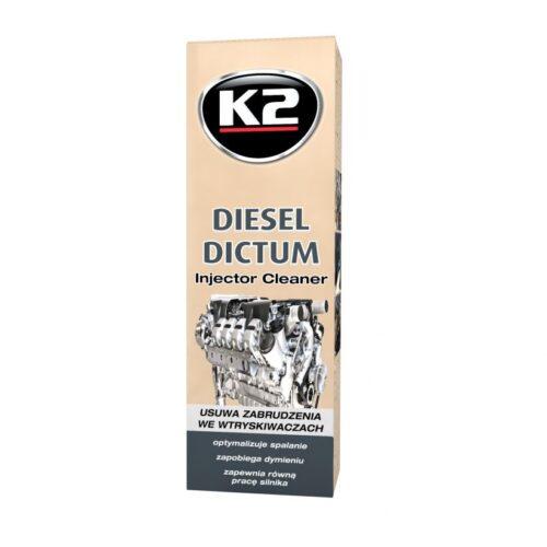 K2 Diesel Dictum najlepszy preparat do czyszczenia wtryskiwaczy diesla